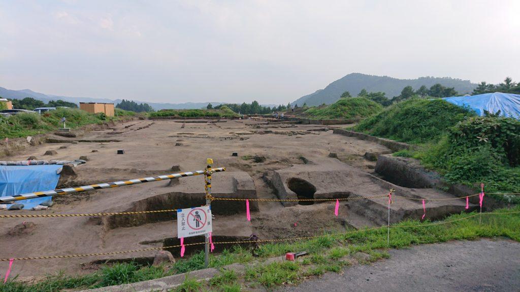 聖寿寺館発掘調査地