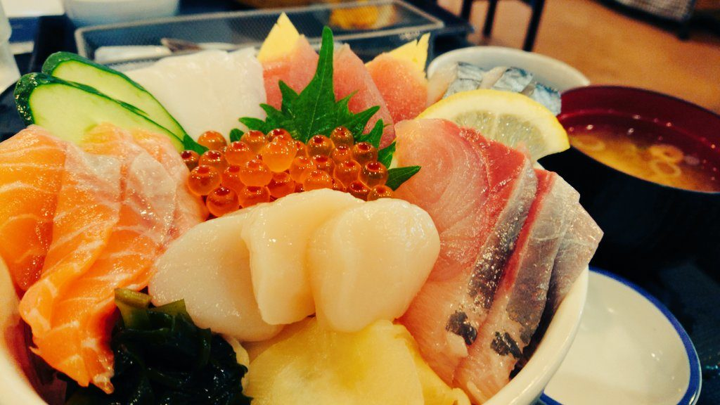 山海里の海鮮丼