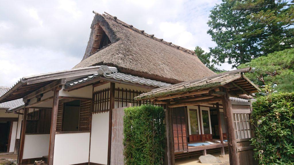 岩倉具視幽棲旧宅外観(玄関側)
