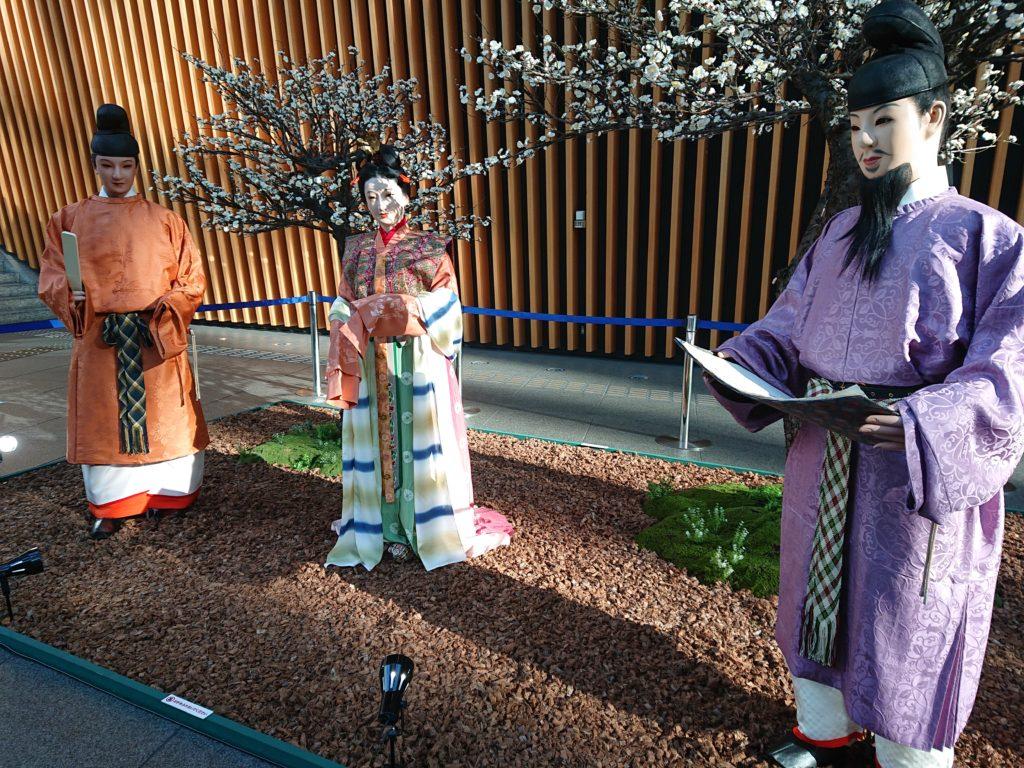 奈良時代の文人たち