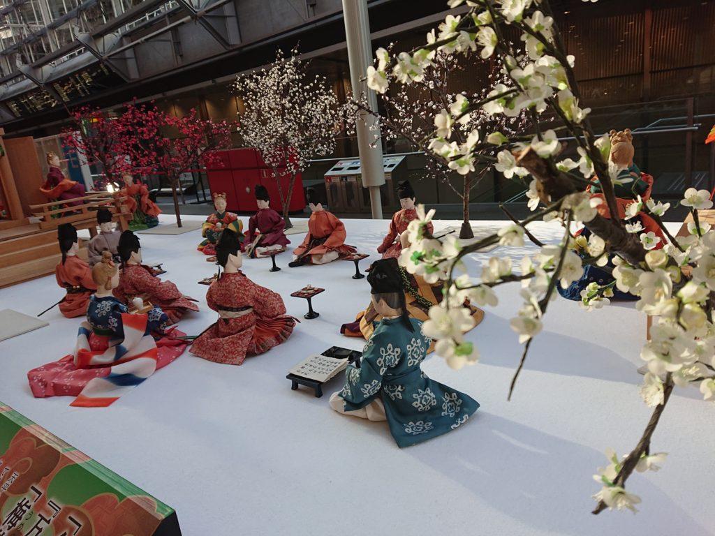 梅花の宴 ジオラマ