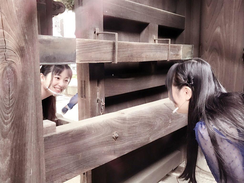 経王寺の銃弾穴